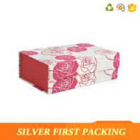 China Silver First custom printing decorative magnet book shaped cardboard gift box wholesale