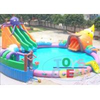China Lager Colored Rental Inflatable Water Toys For Lake Waterproof Durable wholesale