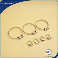 "China 4"" / 6"" / 8"" / 10"" / 12"" Stainless Steel Hose Clamps Worm Drive 6~248 wholesale"