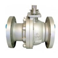 China CF3 Body Floating Ball Valve 900lb RTJ Nylon Seat , Two Piece Bolted Construction wholesale