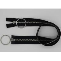 China Customized Metal Zipper By The Yard , 20 Inch Open End 2 Way Jacket Zippers wholesale