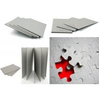 Buy cheap 1200gsm / 2.04mm folding resistance Gray Paperboard / one layer Grey Back Board from wholesalers