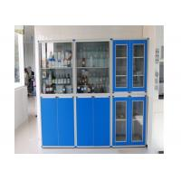 China Beautiful Durable Reagent Cabinet , Stainless Steel Grey Cupboard wholesale