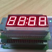"Buy cheap Super red common anode 0.56"" 4 Digit LED Clock display for digital clock from wholesalers"