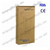 China AOFEITE Adjustable Folding Cane with Carrying Case, Black with FDA,CE Certificates wholesale
