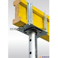 China Q235 Steel Steel Formwork System Four - Way Fork Head Supporting H20 Beams wholesale
