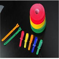 Quality 100% Nylon Hook And Loop faestener / Double sided hook and loop tape / Hook and loop cable ties for sale