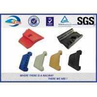 Buy cheap Reinforced Nylon 66 Rail Insulator Angle Guide Plate Plastic And Rubber Part from wholesalers
