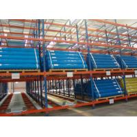 China High density storage system pallet flow roller gravity rack wholesale