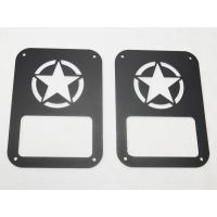 China Star taillight cover for jeep wrangler taillamp cover auto parts car accessories wholesale