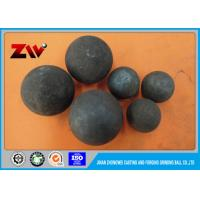 Buy cheap Water quenching / wind quenching heat treatment grinding media steel balls from wholesalers