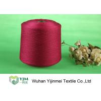 China Sewing / Knitting Colorful Bright Polyester Yarn With Staple Short Fiber Material wholesale