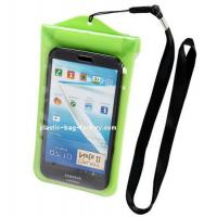 China Swimming Waterproof Phone Wallet , Underwater Phone Case For Samsung Galaxy wholesale