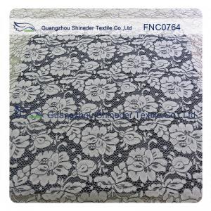 China Lady Garments / Dress Lace Trim Fabric FNC0764 Nylon Lace Fabric Colorful wholesale