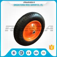 "China 13"" Light Duty Pneumatic Dolly Wheels 3.25/3.00-8 16mm Axle Hole Centered Hub TUV wholesale"