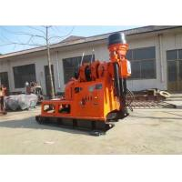 China 130m 180m 200m Borehole Diamond Core Drilling Machine For Small Grouting Hole Winch on sale