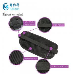 Quality Mens RFID Hidden Ripstop Nylon Money Belt Travel Black Color for sale