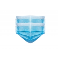 China 3 Ply Non Woven Food Industry Disposable Earloop Face Mask wholesale