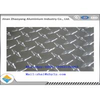 China 3003 H14 Ribbed Aluminum Sheet  / Aluminum Tread Plate For Refrigerator / Solar Air Conditioner wholesale