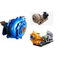 China Heavy Duty Waterproof Sand Slurry Pump , Sand Pumping Equipment Energy Saving wholesale