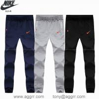 China Designed sport apparel Nike long sweatpant men sports pants quality pant wholesale