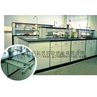China Flexible Steel Wood Lab Island Bench , Durable Science Laboratory Workbench wholesale