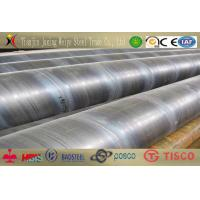 China API 5L Gr.B Spiral Welded Steel Pipe / Tube High Tensile Strength wholesale