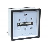 China Single Row Vibrating Reed Analogue Meter , Frequency Meter For Class 1.5 wholesale