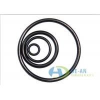 China Acid and Alkali Resistant AS568 FPM/FKM Fluorine Rubber O-ring , ISO9001 Certification on sale