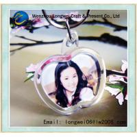 China Apple Shaped Photo Engraved Key Chain Acrylic For DIY Souvenir on sale