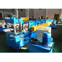 Heavy Duty Upright Roll Forming Machine , Warehouse Storage System Rack Rolling Machine