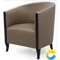Quality Latest Upholstery Leather Single Sofa Design Furniture Armchair for Living Room for sale