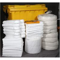 Yellow Wheeled Chemical Spill Kit Corrosion Preventive Various Sizes For Choice
