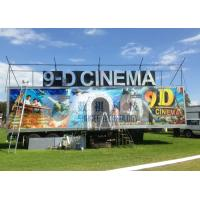China Safe Special Mobile 9D XD Theatre With Sunproof And Waterproof Truck wholesale