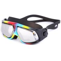China UV Protection Corrective Optical Swim Goggles , Clear Lens Swimming Goggles wholesale