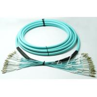 China OM4 Multi Core Fiber Optic Patch Cord FTTH With Tight Buffer Cable wholesale