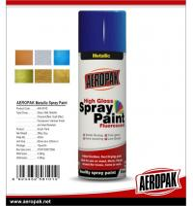 China AEROPAK handy spray Acrylic fast dry high glossy 400ml aerosol Spray Paints wholesale