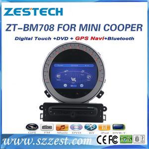Quality ZESTECH car dvd gps navigation for BMW mini cooper car dvd gps navigation system for sale