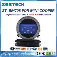 Quality ZESTECH car dvd gps navigation for BMW mini cooper car dvd gps navigation system with radio player for sale