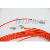 China FTTH LC / APC 1 X 2 splitter optical fiber With 3.0mm G657A Fiber Cable wholesale