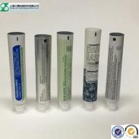 China Laminated Cosmetic Tube Small Airless Empty Toothpaste Containers Round / Oval wholesale