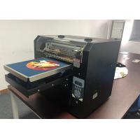 China Digital Flatbed Direct To Garment Printing Machine Personalized DTG A3 Size on sale