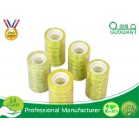 Acrylic Glue Waterproof Transparent Colored Shipping Tape Printed Company Logo