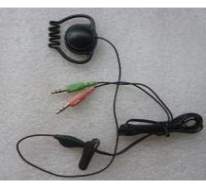 2017 hot sell single ear hook earphone for meeting monitor meeting translation or tour guide earphone