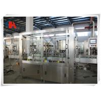 China PET Bottle Carbonated Beverage Filling Machine Rinsing Filling Capping 3 In 1 Monoblock wholesale