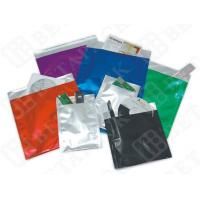 China Black / White Custom Print Business Envelopes Aluminum Foil Pouches wholesale
