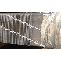 China Single Row Finned Aluminum Tubing Height 20mm x 1mm Thickness wholesale