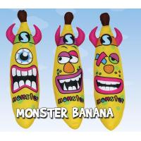 China 12 inch Carnival Monster Banana Stuffed Plush Toys for Festival andl Holiday on sale