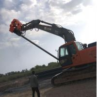 Quality Hydraulic Vibratory Sheet Pile /350mm Prefabricated photovoltaic pile /wooden for sale
