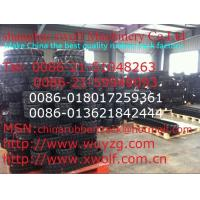 China Excavator rubber track on sale